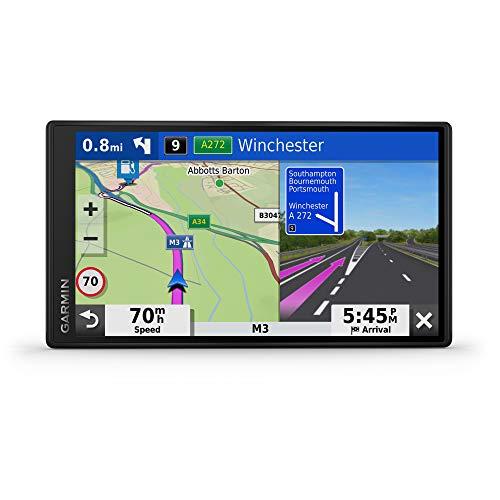 """Garmin DriveSmart 65 EU LMT-S Navigatore Auto con Mappa Europa 3D, Schermo Touch 6.95"""", Vivavoce, Infotraffico e Servizi Live via Smartphone"""