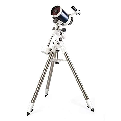 GGPUS Telescopio per Principianti di Astronomia per Adulti Professionisti, Telescopio rifrattore per Astronomia, Specchio mirino: 6 X30, Stella Limite: 13,1, Lunghezza focale 1250 M con treppiede