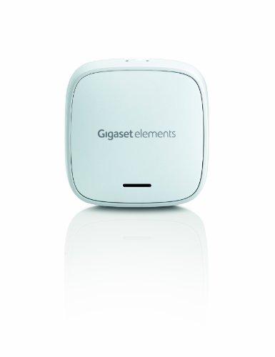 Gigaset Elements Sensore Finestra, Rileva Aperture e Inclinazioni della Finestra con Invio Immediato di Notifica sull'App, Bianco [Versione Italiana]