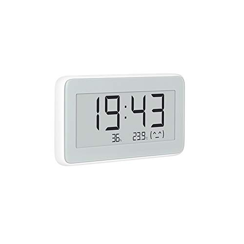 Homidy M9 - Termometro e igrometro Digitale Bluetooth, per Interni, con App Mihome, igrometro, Temperatura Interna, umidità per 6 Mesi, sensori digitali svizzeri per Interni