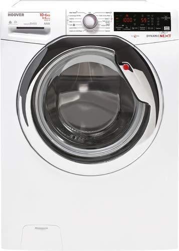 Hoover WDXOA 6106AH-01 Lavasciuga, 10/6 kg, 1600 rpm, Bianco