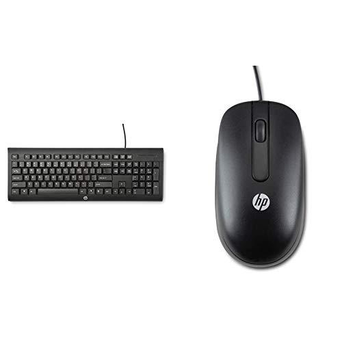 HP 1500 Tastiera con connessione USB, Nera