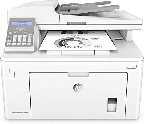 HP LaserJet Pro M148fdw Stampante con Fax monocromatica multifunzione wireless, Bianco