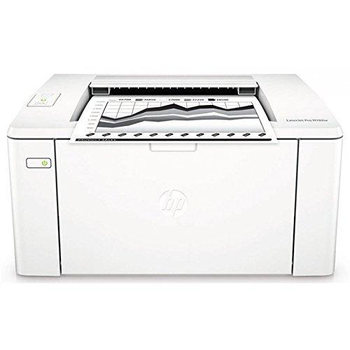 HP M102A LaserJet Pro Stampante Monocromatica, Standard, Bianco