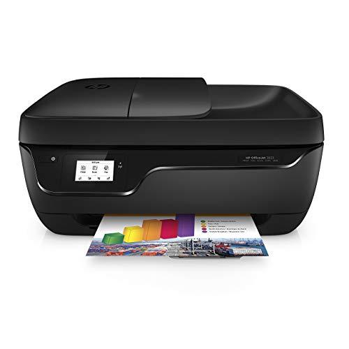 HP OfficeJet 3833 F5S03B Stampante Multifunzione a Getto di Inchiostro, Stampa, Scannerizza, Fotocopia, Fax, Wi-Fi Direct, Compatibile con il Servizio di Instant Ink, Nero