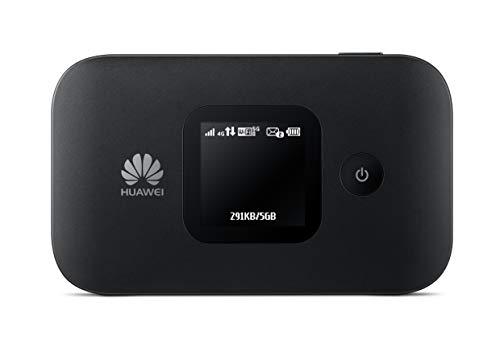 Huawei E5577Cs-321 Mobile Router Hotspot Portatile, WiFi da 150 MBps 4G LTE, Pro, Nero