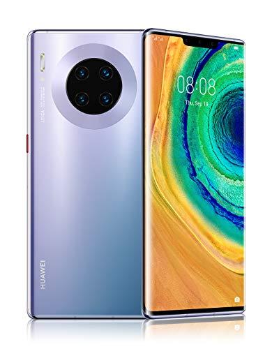 "HUAWEI Mate 30 Pro Space Silver, Quadrupla Fotocamera 40+40+8MP e Sensore TOF 3D, Display Horizon 6.58"", Space Silver, HUAWEI Mobile Services (HMS) anziché i Google Mobile Services (GMS) [ITALIA]"