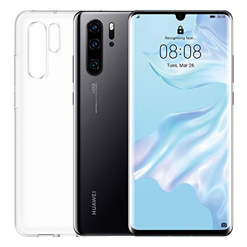 "HUAWEI P30 Pro Smartphone e Cover Trasparente, 8 GB RAM, Memoria 128 GB, Display 6.47"" FHD+, Processore Kirin 980, Quadrupla Fotocamera 40+20+8 MP, Sensore TOF, SuperZoom 50x,Nero [Italia]"