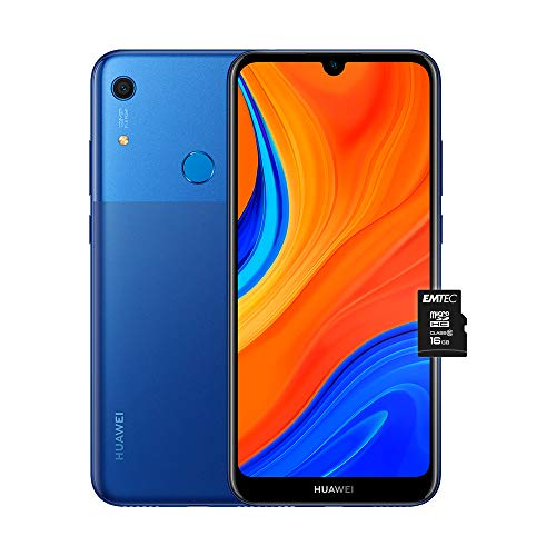 """HUAWEI Y6s e MicroSDHC 16 GB Class 10, Smartphone con 32 GB, Display 6.09"""" HD+, Processore Quad Core, Orchid Blue (Versione Italiana)"""