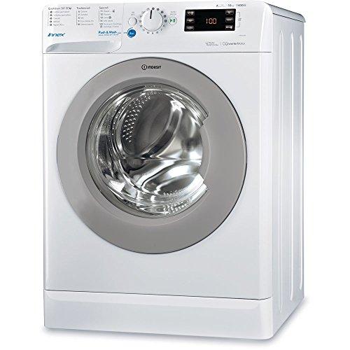 Indesit BWE 101484X WSSS IT Libera installazione Carica frontale 10kg 1400Giri/min A+++ Bianco lavatrice