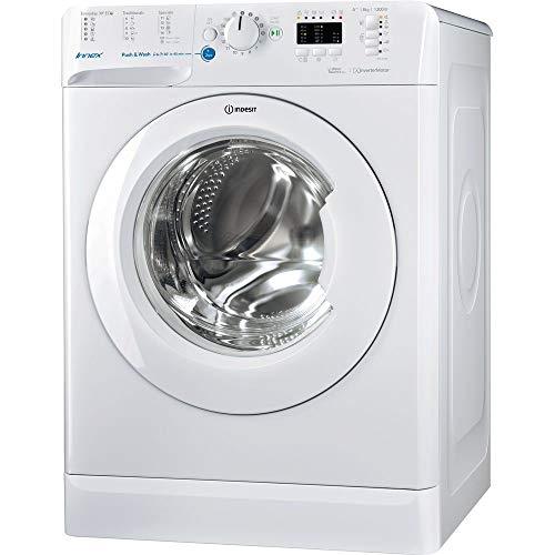 Indesit - Lavatrice A Carica Frontale BWA 81283X W EU Capacità 8 kg Centrifuga 1200 Giri / min Classe Energetica A+++ Colore Bianco