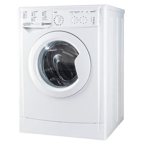 Indesit - Lavatrice a Carica Frontale IWC71253ECOEUM 7 kg Classe A+++ Centrifuga 1200 giri, Senza installazione
