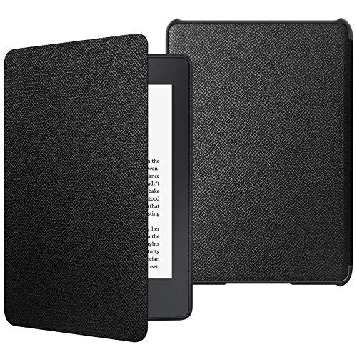 JETech Custodia Tutto Nuovo Kindle Paperwhite (10a Generazione Solo 2018 di Rilascio) con Auto Sveglia/Sonno, Nero