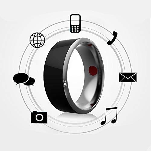 KEMANDUO Anello da 54 Mm Universale in Titanio Impermeabile per Smart Ring per iOS - Anello Intelligente - Lord of The Rings - Anello Portacellulare da Indossare,70Mm