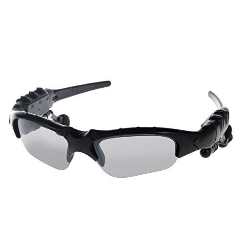 Kingcoo® Wireless Bluetooth da moto Occhiali da sole con cuffie per auricolari vivavoce, per smartphone, Tablet, iPhone, 6s PLUS/6s Samsung dispositivi Bluetooth