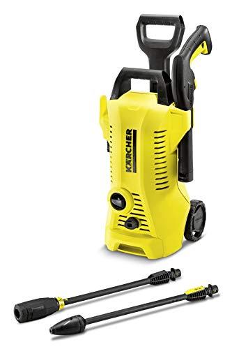 Kärcher 1.673-400.0 Pulitore ad Alta Pressione K 2 Full Control, 1400 W, 220 V, Giallo/Nero, sin accesorios