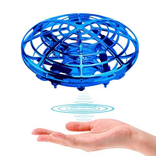 Kriogor UFO Drone Giocattolo, Mini Drone Palla Volante Giocattolo Flying Ball Toy Aerei ad Induzione ad Infrarossi Rotanti a 360 ° con luci a LED,per Adulti e Giocattoli Volanti per Bambini