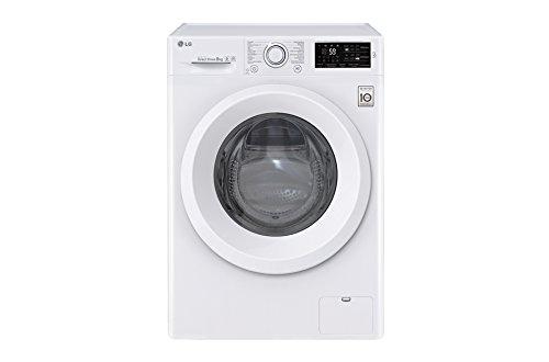 LG F4J5TN3W lavatrice Libera installazione Caricamento frontale Bianco 8 kg 1400 Giri/min A+++-30%, Senza installazione