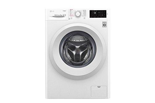 LG F4J5VY3W lavatrice Libera installazione Caricamento frontale Bianco 9 kg 1400 Giri/min A+++