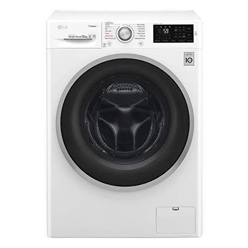 LG F4J6J10KG lavatrice Libera installazione Caricamento frontale Bianco 10 kg 1400 Giri/min A+++