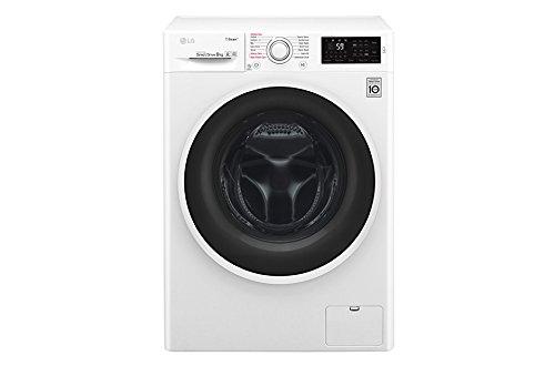 LG F4J6TY0W lavatrice Libera installazione Caricamento frontale Bianco 8 kg 1400 Giri/min A+++-30%