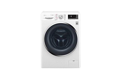 LG F4J8JS2W Libera installazione Carica frontale 10kg 1400Giri/min A+++ Bianco lavatrice