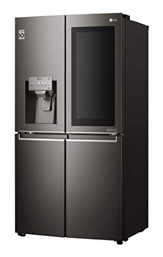 LG GMX936SBHV Libera installazione 571L A+ Nero frigorifero con congelatore