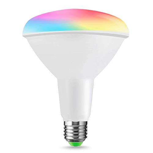 LOHAS R95 E27 Smart Lampadine WiFi 14W, RGB + Giorno Bianco 6000k, Remote Operated by LOHAS SMART APP, Dimmerabile, Voice Controlled di Alexa e Google Home, confezione da 1