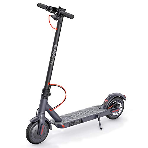 """Macwheel Monopattino Elettrico Pieghevole, Potente Motore da 350W, Batteria con Autonomia Fino a 30 km, velocità Massima a 25 km/h, Pneumatico Airless Antiurto da 8,5"""", Scooter per Adulti(MX1)"""