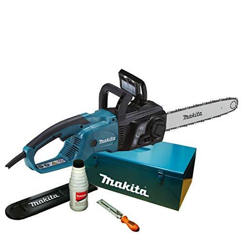 Makita, Motosega elettrica 40 cm + accessori, con valigetta, UC4051AK