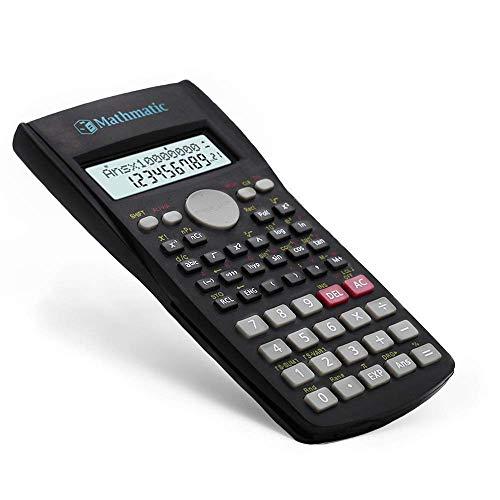 Mathmatic-palmare multifunzione 2Line display calcolatrice scientifica 82ms-a multifunzionale portatile calcolatrice