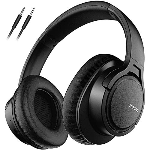 Mpow Cuffie Bluetooth 4.1 Stereo H7, Cuffie Chiuse Wireless CSR, Over-Ear, Cuffie Bluetooth Senza Fili con Microfono, Autonomia di 15 Ore per iPhone/iPad/Samsung/Sony/Huawei/Altri Cellullari e PC