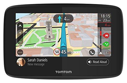 Navigatore TomTom GO 520 GPS 5 Pollici, Chiamata in Vivavoce, Siri & Google Now, Aggiornamenti da Wi-Fi, Traffic a Vita da Smartphone e Mappe del Mondo, Messaggi dello Smartphone, Schermo Capacitivo