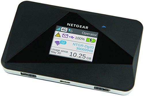 Netgear AC785 Router 4G con sim portatile, velocità N150 fino a 5 dispositivi, durata batteria 10 ore