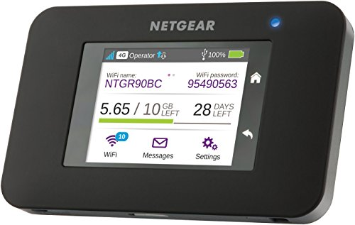 Netgear Router 4G con sim AC790, Alternativa ADSL, Velocità N300, durata batteria 11 ore