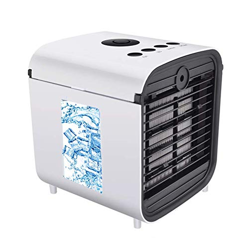 Nifogo Air Cooler Portable Condizionatore Portatile - 3 in 1 Mini Raffrescatore D'aria Evaporativo Umidificatore Purificatore, USB Cooler, Leakproof & New Filter Paper (Nuovo)