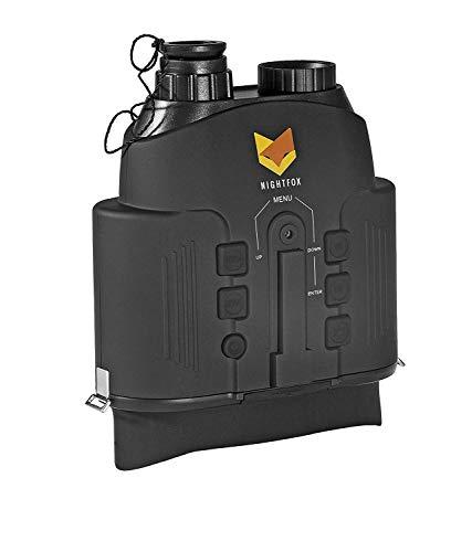 Nightfox 110R - Binocolo con visione notturna a infrarossi, raggio d'azione 150 m, funzione di registrazione