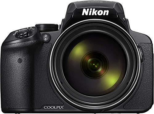 """Nikon Coolpix P900 Fotocamera Digitale Bridge, 16 Megapixel, Zoom 83X, VR, LCD 3"""", Full HD, Wi-Fi, GPS, GLONASS, QZSS, Colore Nero"""