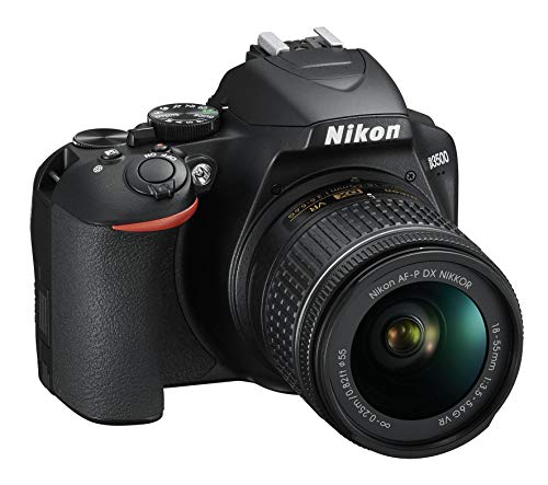 "Nikon D3500 Fotocamera Reflex Digitale con Obiettivo Nikkor AF-P 18/55VR, 24.2 Megapixel, LCD 3"", SD da 16 GB 300x Premium Lexar, Nero [Nital Card: 4 Anni di Garanzia]"