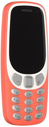 Nokia 3310 3G Telefono Cellulare, Memoria Interna da 64 MB, Caldo Rosso [Italia]