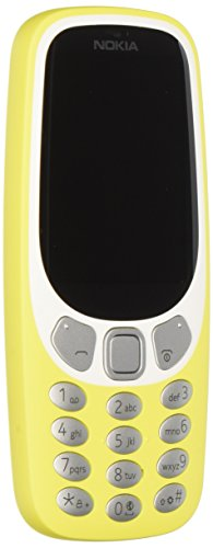 Nokia 3310 Telefono Cellulare, Memoria Interna da 16 MB, Dual SIM, Rosso [Italia]