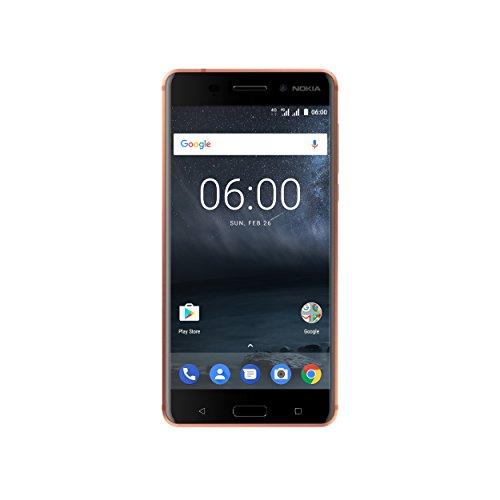 Nokia 6 Smartphone, 32 GB, Blu [Italia]