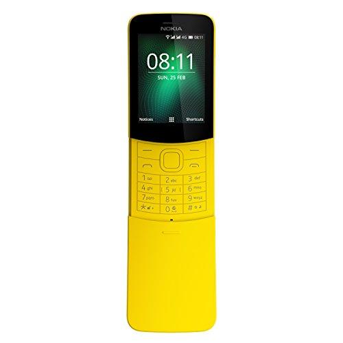 Nokia 8110 Telefono Cellulare da 4 GB, Giallo [Italia]