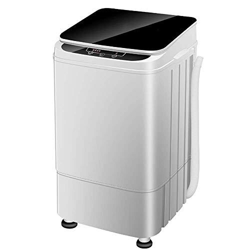OCYE Lavatrice compatta Mini Vasca Doppia capacità 10 lbs con asciuga centrifuga, Piccola Lavatrice Leggera per Appartamenti, dormitori, Camper
