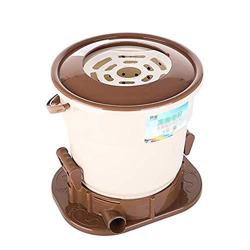OCYE Lavatrice Manuale compatta Portatile Lavabiancheria compatta Senza elettricità, Grande capacità, dormitorio, Campeggio