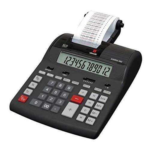 Olivetti 221729, Calcolatrice, Nero