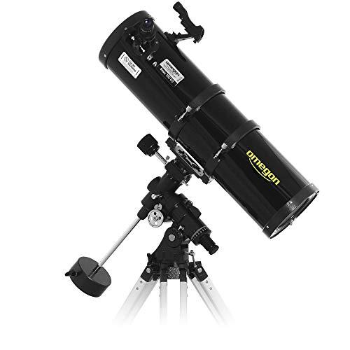 Omegon Telescopio N150/750 EQ-4, telescopio astronomico con Apertura 150 mm e Lunghezza focale 750 mm