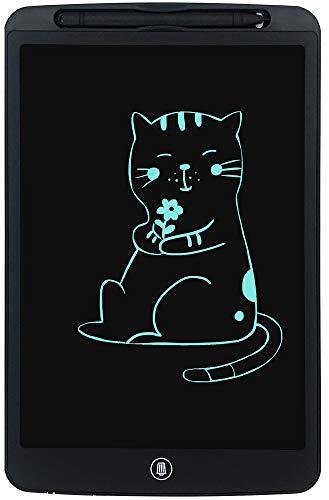 Orimi 12 Pollici Tavoletta LCD scrittoio elettronico tavoletta Grafica Digitale da Disegno Portatile (Linea Monocromatica, Nero)