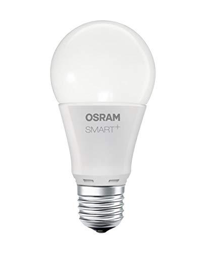 Osram Smart+ LED Lampadina Zigbee, con attacco E27, 8.5W, Bianco caldo, Dimmerabile