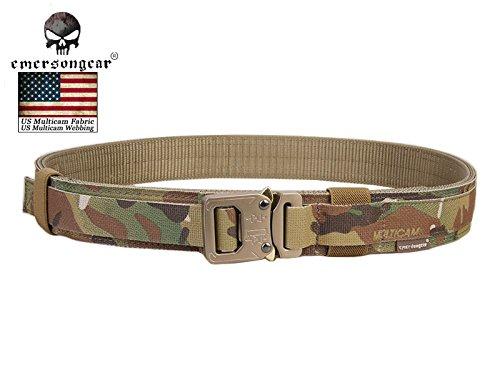Paystore 100cm: New Arrival Emerson coperchio 3,8cm Shooter cintura militare esercito cintura vita supporto Airsoft Tactical Belt Multicam EM9250m l XL
